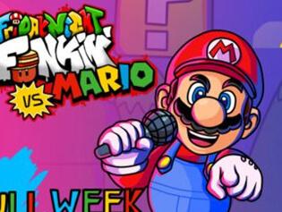 Play Free FNF vs Mario - BrightestGames.com